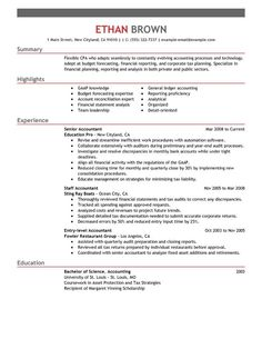 Cover Letter Accounting Glamorous Accountant Cover Letter Example  Projects To Try  Pinterest Design Ideas