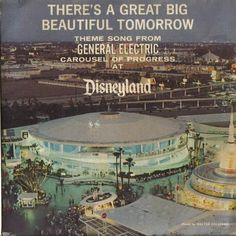 You really appreciate how cool Tomorrowland was when you see this record cover. Rebuild it! Disneyland Tomorrowland, Disneyland World, Disneyland Secrets, Disneyland Photos, Vintage Disneyland, Tokyo Disneyland, Disneyland Resort, Disneyland History, Disneyland California