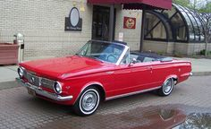 `65 Plymouth Valiant Signet my Dad had this car when I was little loved the memories in there!