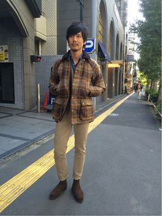 iphone_photo_ Gentleman, Hipster, Plaid, Asian, Street Style, Mens Fashion, Naver, Cool Stuff, Coat