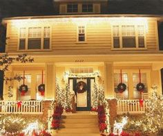 That's what my house looks like in my mind...in reality it's a bundle of twinkle light mess.