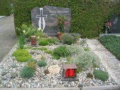 Steingartenpflanzen zu Grabgestaltung