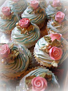 Fake Bakes - decorative cupcake tutorial -