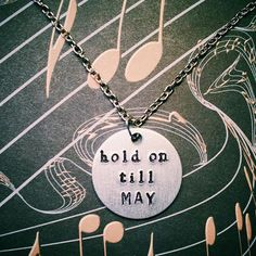 Pierce the Veil Hold on Till May Hand by YellowHippoDesigns