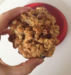 Raisin, Oat & Walnut Cookies