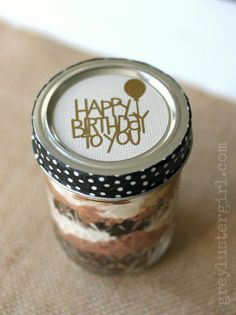 4 Easy Happy Birthday Gift Tags -