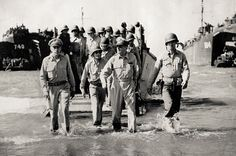 General Douglas MacArthur - D-Day
