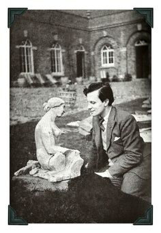 Rex Whistler photographed by Cecil Beaton, from Part Two of The Masque..little augury