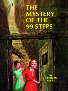 47. The Mystery of the 99 Steps Nancy is off to France to help a friend decipher a bizarre dream while her father confers with a client in Paris. Read more: Original Nancy Drew Books in Order - Summary of Nancy Drew Mysteries - Country Living