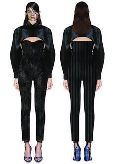 madalina buzas on Behance Fashion Illustration Sketches, Illustrations, Flat Drawings, Fashion Design Portfolio, Aesthetic Art, Clothing Patterns, Maturity, Harem Pants, Submissive