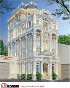 KTS đã kế thừa và chắt lọc những tinh hoa của kiến trúc Ý cho ra đời ngôi biệt thự cổ điển với tỉ lệ hài hòa và đẹp mắt.