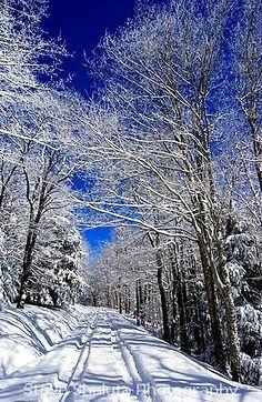 Winter Road, West Virginia