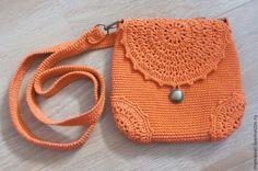 Купить Белкина - рыжий, вязаная сумочка, Вязание крючком, маленькая сумочка, белочка, подарок девушке