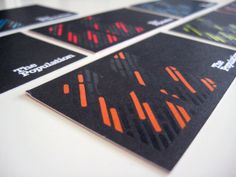 The Population Business cards