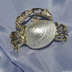 Vintage-GERRYS-Crab-Pin