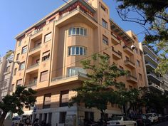 Πολυκατοικία Μαυρομμάτη, Πλουτάρχου 3 & Υψηλάντου 33 | by Dimitris Kamaras Athens, Multi Story Building