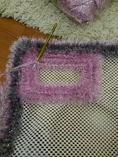 Crochet Knitting Den Non Slip Mesh Bath Mat Model Making . Crochet Stitches, Knit Crochet, Crochet Patterns, Wiggly Crochet, Animal Print Wallpaper, Crochet Carpet, Latch Hook Rugs, Waterproof Fabric, Rug Hooking