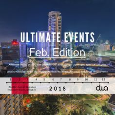Ultimate events happening soon in Australia, Belgium, Canada, Denmark, France, Germany, Italy, Japan, Mexico, Netherlands, New Zealand, UK and USA. This edition also links to the official site for the European Film Market Horizon Events set to run 16-20 Feb. in Berlin.