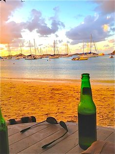 The Beach Bar, St. John. #Caribbean
