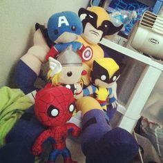 Marvel Plushies