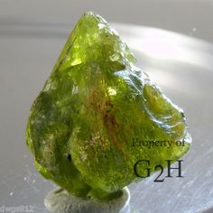 31.67 cts Peridot Facet Grade, Nice Color,