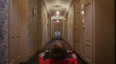 """The Shining  The """"Here's Johnny"""" scene took 3 days to film and 60 doors."""