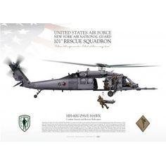 "HH-60G ""PAVE HAWK"" 101 SQ NYANG JP-1905"