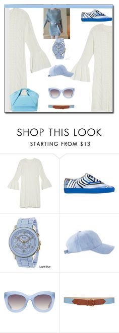 """""""Sweater Dresses"""" by peeweevaaz ❤ liked on Polyvore featuring Eliza J, Solovière, Geneva, Alice + Olivia, Blugirl, outfit, polyvoreeditorial, sweaterdresses and polyvorefashion"""