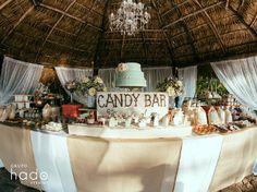 Vintage wedding. Candybar. Barra de postres