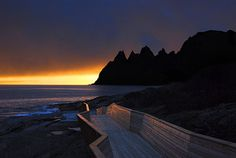 Norway, Senja (On the picture: A place called Tungeneset)