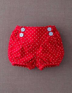 I've spotted this @BodenClothing Babycord Bloomers Bus Red Spot
