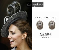 Kate Middleton Style. SHOP repliKates of Kiki Grace earrings