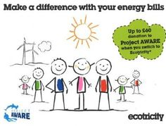 Make the Switch to #RenewableEnergy with Ecotricity