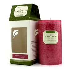 Aroma Naturals Authentic Aromatherapy Candles - Romance (Jasmine & Ylang Ylang) (2.75x5) inch Home Scent
