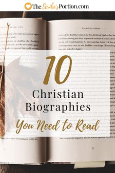 Christian Biographies of godly men and women who will encourage and challenge you to analyze your life. Recommended Books To Read, Best Books To Read, I Love Books, Good Books, Ya Books, Christian Books For Men, Christian Fiction Books, Christian Women, Christian Living