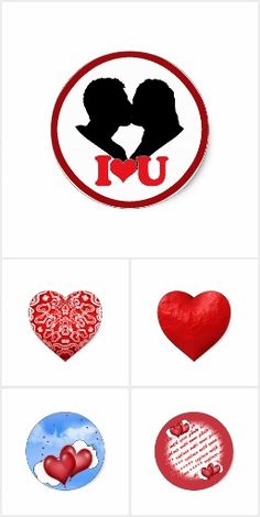 ❤Love is in the Air! Check out the variety of magnets, stickers & more love themed gifts! #Zazzle #Gravityx9 -