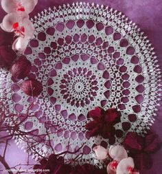 Crochet Art: Crochet Doily and Pattern