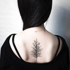 @ilwolhongdam • tree  After a year and six months.  #tattoo #hongdam #타투 #홍담