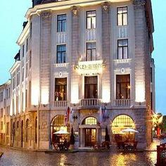 With an enviable location right in the heart of Tallinn's stunningly beautiful Old Town, the stylish Hestia Hotel Barons is based in a former bank building. Banks Building, Hotel Packages, Hotel Guest, Stunningly Beautiful, Baron, Helsinki, Dream Vacations, Old Town, Cosy