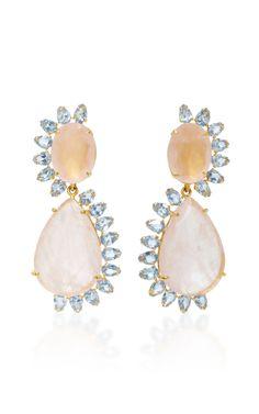 fe0efb512 Bounkit Pearl Earrings, Gemstone Earrings, Quartz, Jewels, Gemstones,  Jewelry Accessories,