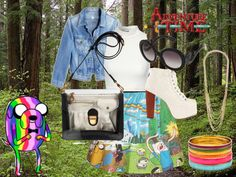 """Adventure Time"" by lollyolive on Polyvore"