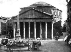 The Pantheon (Rome, Italy) Places Ive Been, Places To Go, Classical Antiquity, Built Environment, Sorrento, Ancient Rome, Rome Italy, Italian Fashion, Fashion History