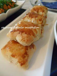 TALAŞ BÖREĞİ Food N, Food And Drink, Turkish Recipes, Ethnic Recipes, Turkish Kitchen, World Recipes, Flan, Hot Dog Buns, Baby Food Recipes