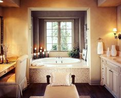 This gorgeous #bathroom is the perfect setting for a nice relaxing bath.  What do you think? #realtor #rondamorris #realestate