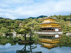 Kinkaku-ji (Golden Pavilion), Kyoto    25 Most Beautiful Places in Japan - Photos - Condé Nast Traveler