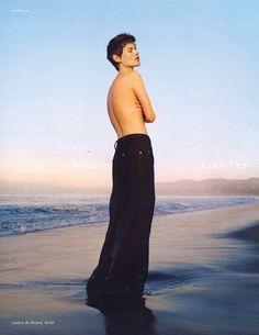Calvin Klein SS16 Photography Tyrone Lebon Model Saskia de Brauw