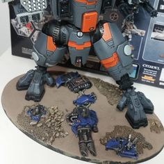 That could be my colour scheme. Orange Kroot too.