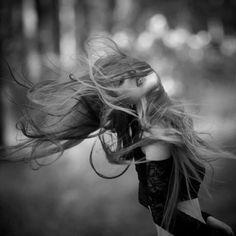 Wind blown....