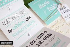 invitacion boda verde abierta 2