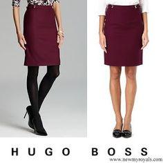 21 March 2017 - Letizia style: HUGO BOSS